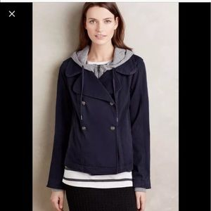 Anthropologie Hei Hei Layered Solon Jacket S